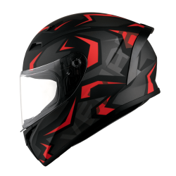 KASK VEMAR GHIBLI WARRIOR black red