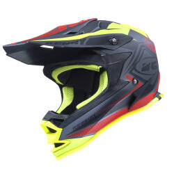 KASK KENNY PERFORMANCE 2017 matt black / red/ yellow